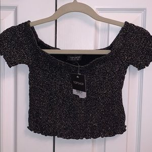 NWT Topshop Cropped Tee